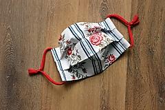 Rúška - Ochranné rúško ružičky - 12469747_
