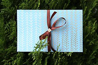 Papiernictvo - Darčekové balenie na hodváb... - 12470478_