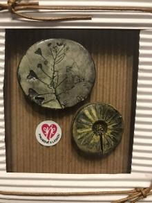 Odznaky/Brošne - Slnečné rána - pár brošní /kolekcia LÚKA - 12473216_