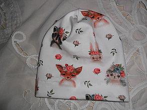 Detské čiapky - Čiapočka pre bábätko. - 12469968_