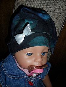 Detské čiapky - Čiapočka pre bábätko. - 12473060_