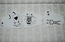 Textil - metráž mačky - 12470977_