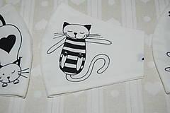 Textil - metráž mačky - 12470979_