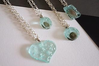 Náhrdelníky - Neoli - mini náhrdelníky so striebrom - 12473201_