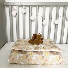 "Textil - Vankúš & Perinka ""Bears & Bees"" - 12473602_"