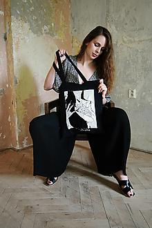 """Nákupné tašky - Čierna taška """"Vampira"""" - 12477299_"""