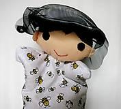 Hračky - Maňuška včelár - na objednávku - 12476738_