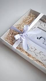 Rámiky - Ručne maľovaný rámček - darčekové balenie - 12477643_