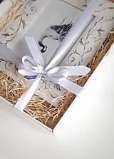 Rámiky - Ručne maľovaný rámček - darčekové balenie - 12477644_