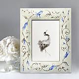 Rámiky - Ručne maľovaný rámček - darčekové balenie - 12477647_