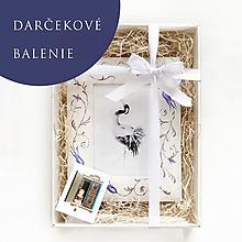 Rámiky - Ručne maľovaný rámček - darčekové balenie - 12478158_
