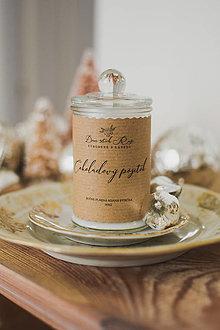 """Svietidlá a sviečky - NOVINKA! Sójová sviečka """"Čokoládový pôžitok"""" - 12476284_"""