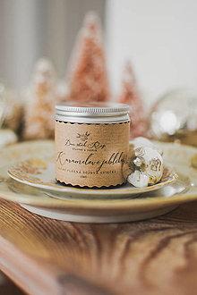 """Svietidlá a sviečky - Vianočná sójová sviečka """"Karamelové jabĺčka"""" - 12476325_"""