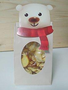 Potraviny - Jablkové lupienky - Medveď - 12474615_