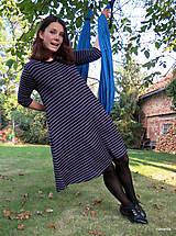 Šaty - šaty KLÁRY- proužkované s kapsami - 12478526_