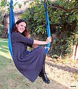 Šaty - šaty KLÁRY- proužkované s kapsami - 12478527_