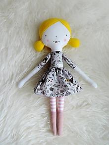 Hračky - Látková bábika - v lese - 12474452_