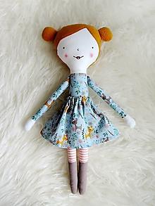 Hračky - Látková bábika - srnky v lese - 12474560_
