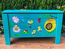 Nábytok - Truhlica na hračky - 12475090_