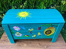 Nábytok - Truhlica na hračky - 12475111_