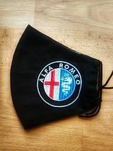 Rúška - Pánske rúško Alfa Romeo1 - 12478665_