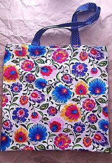 Nákupné tašky - Nákupná taška Folk 1 - 12478533_