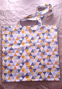 Nákupné tašky - Nákupná taška Geometria 4 - 12478563_