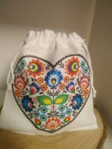 Úžitkový textil - Vrecúško na hocičo - 12478733_