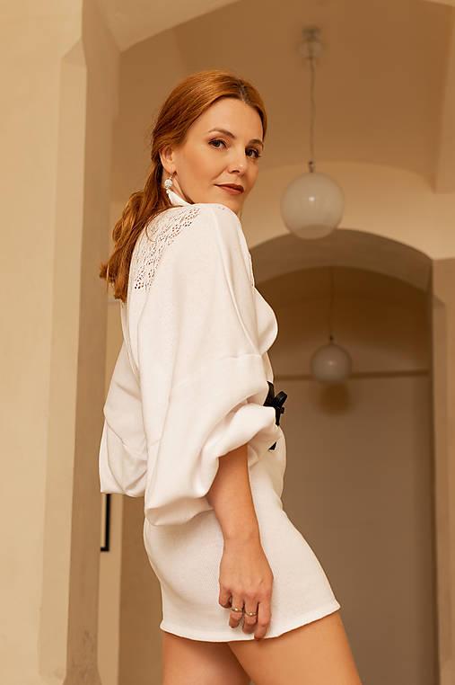 Šaty - Pletené šaty, Lada , OEKO-TEX® - rôzne farby - 12481520_