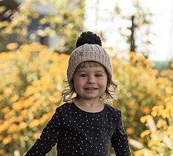 """Detské čiapky - Detská čiapka, """"Naty"""", OEKO-TEX®, rôzne farby - 12480641_"""