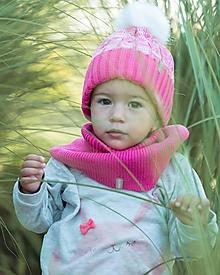 """Detské čiapky - Detská čiapka, """"Naty"""" melír, OEKO-TEX®, rôzne farby - 12480713_"""