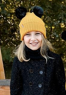 """Detské čiapky - Detská čiapka, """"Janka"""", OEKO-TEX®, rôzne farby - 12480875_"""