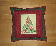 Úžitkový textil - Obliečka na vankúš vianočná - 12483529_