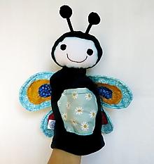 Hračky - Maňuška motýľ - Motýlik od Malej lúky - 12482596_