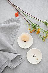 Nádoby - keramická šampónovnička púpava - 12482974_