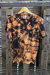 - Tričko _T-shirt_batik_L_uni_black_cotton - 12481036_
