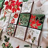 Dekorácie - Adventný kalendár Vianočná hviezda - 12478788_
