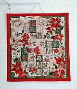 Dekorácie - Adventný kalendár Vianočná hviezda - 12478789_