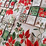 Dekorácie - Adventný kalendár Vianočná hviezda - 12478790_