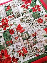 Dekorácie - Adventný kalendár Vianočná hviezda - 12478791_