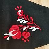 Rúška - Dámske folk rúško (Červená) - 12478797_