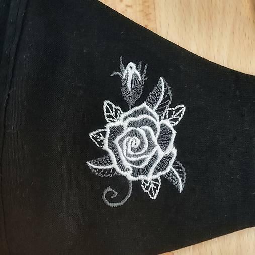 Dámske rúško ruža (Šedá)