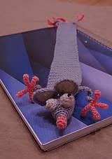 Papiernictvo - Záložka do knihy Myška - 12478782_
