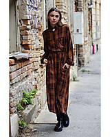 Šaty - Jesenné, kárované šaty. - 12480108_