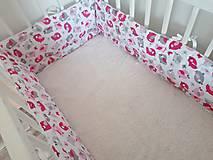 Textil - Mantinel do postieľky 360cm - 12478838_