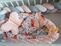 Textil - Obojstranné hniezdo pre bábätko - 12478856_
