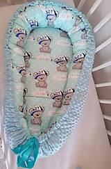Textil - Obojstranné hniezdo pre bábätko - 12478857_