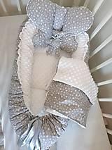 Textil - Obojstranné hniezdo pre bábätko - 12478858_