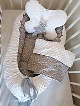 Textil - Obojstranné hniezdo pre bábätko - 12478859_