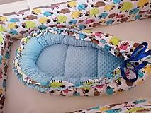 Textil - Obojstranné hniezdo pre bábätko - 12478860_